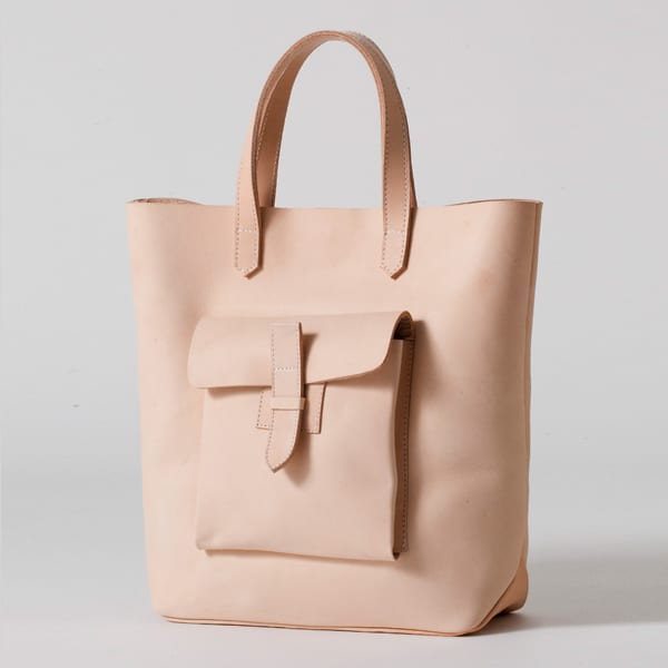 American Apparel - Sturdy Leather Tote