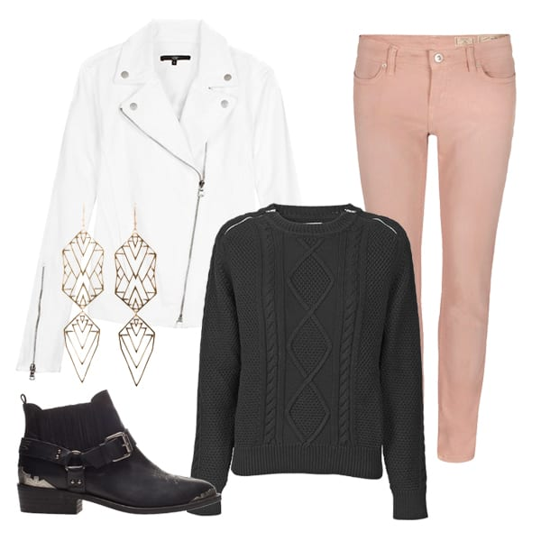 Outfit Inspiration 27 featuring Zoe and Morgan, Zara, TIBI, Mads Nørgaard & AllSaints