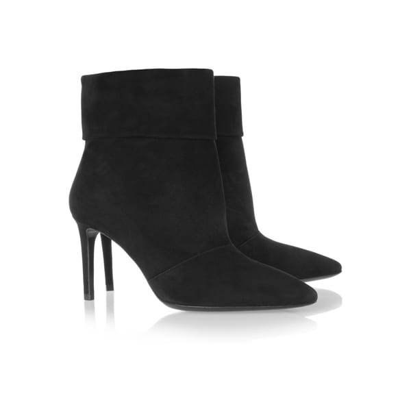 Saint Laurent - Suede Ankle Boots