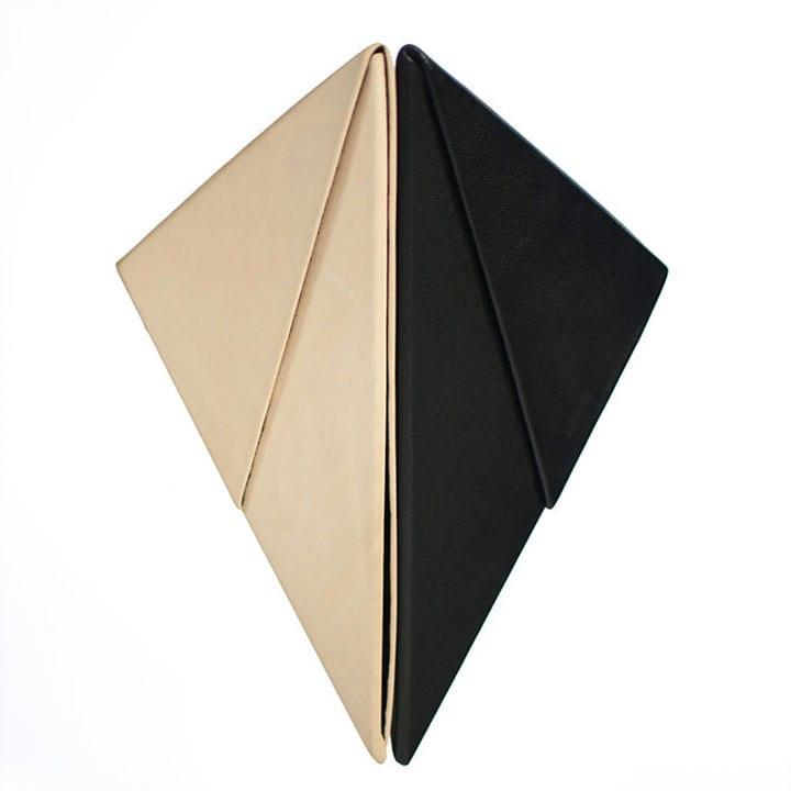 Tiravan Triangle Clutch Bag