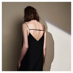 Beautiful back details in the josephfashion Resort 16 collection