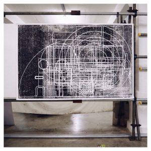 Cool screen print from Bath School of Art  Designshellip
