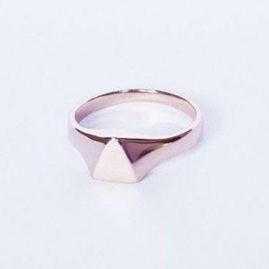 Fell in love with cruxlondons triangular signet ring tonight suchhellip
