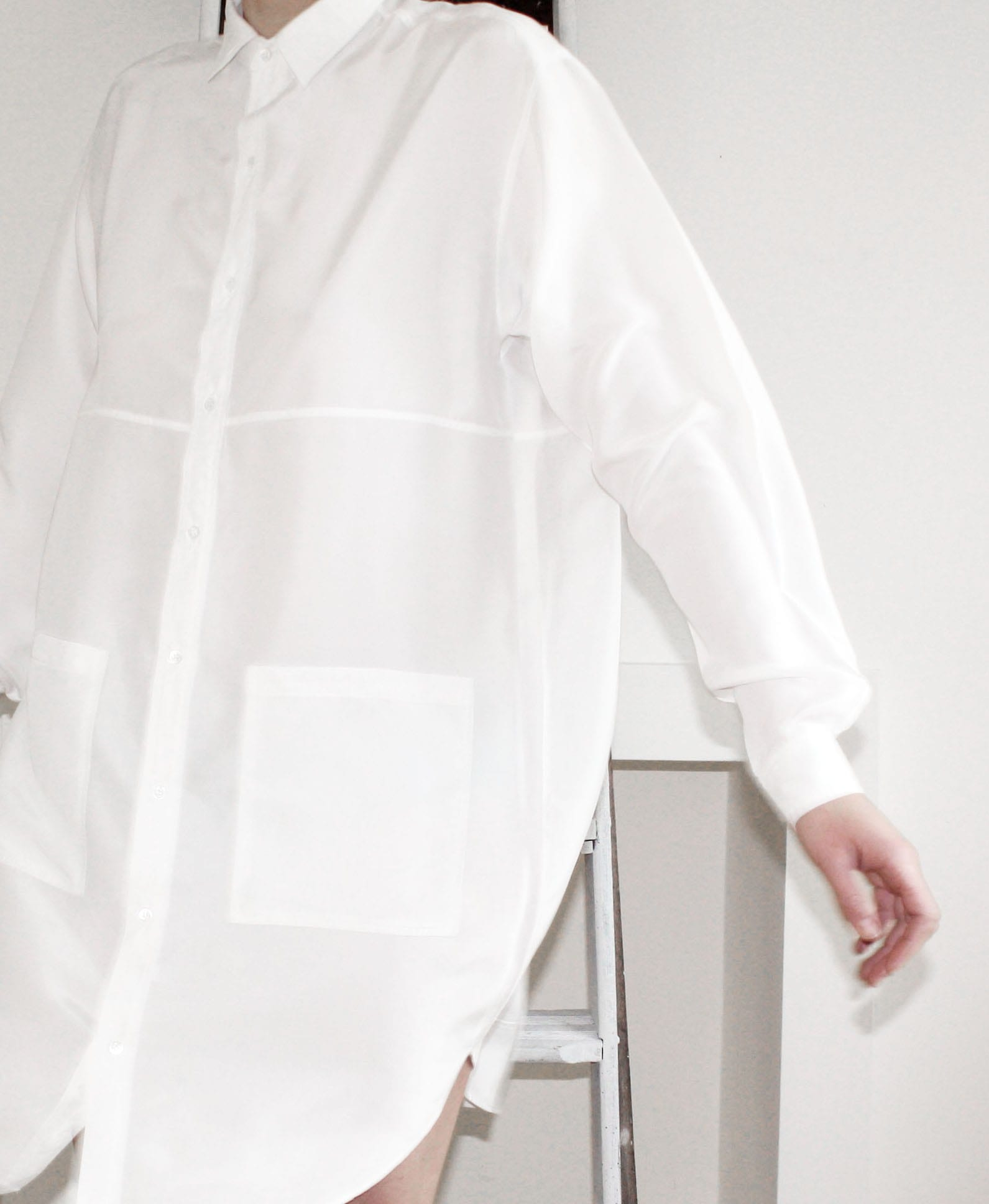 Hannah Sager Forsberg - White shirt dress