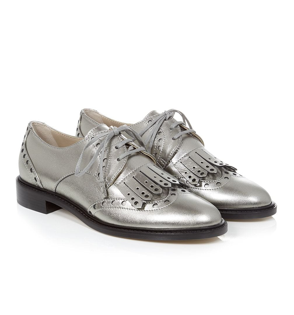 L'Amour Hobbs London's Hampton Fringed Brogue