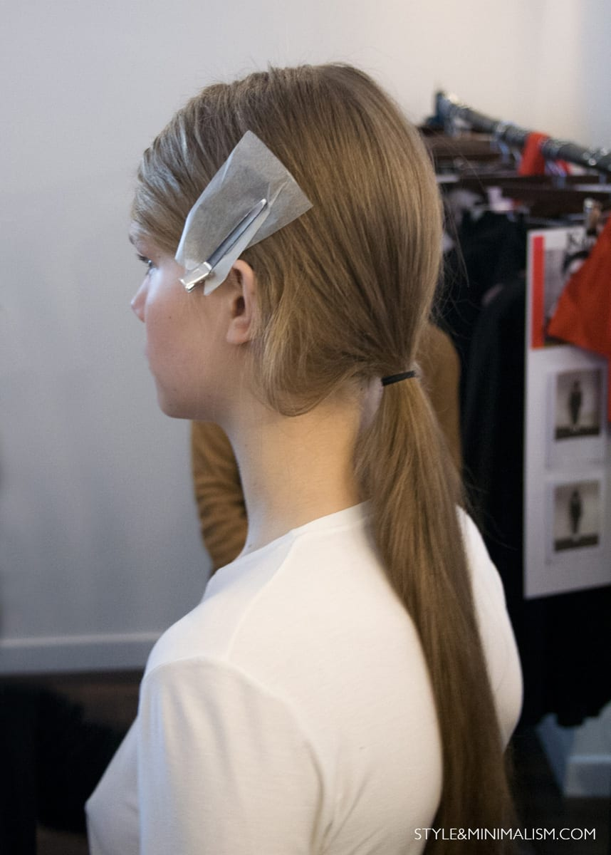 Style&Minimalism | Charlie May AW14 Backstage