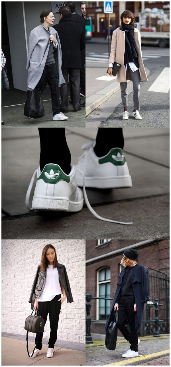 Styling Inspiration White Adidas Stan Smiths