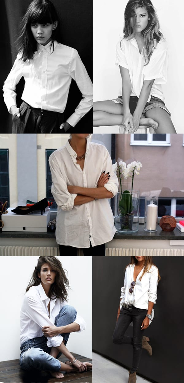 White Shirt Styling Inspiration