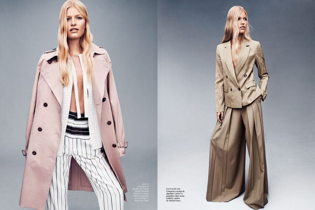 Style&Minimalism | Trench Topic - Vogue Espana, February 2014