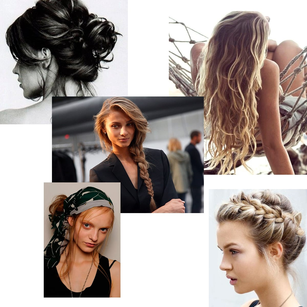 StyleAndMinimalism | Summer Holiday Hair Inspiration
