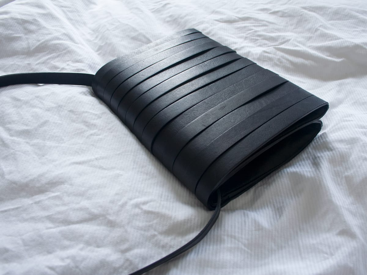 StyleAndMinimalism | New Additions | 2014 07 | Other Stories | Black Leather Clutch Bag