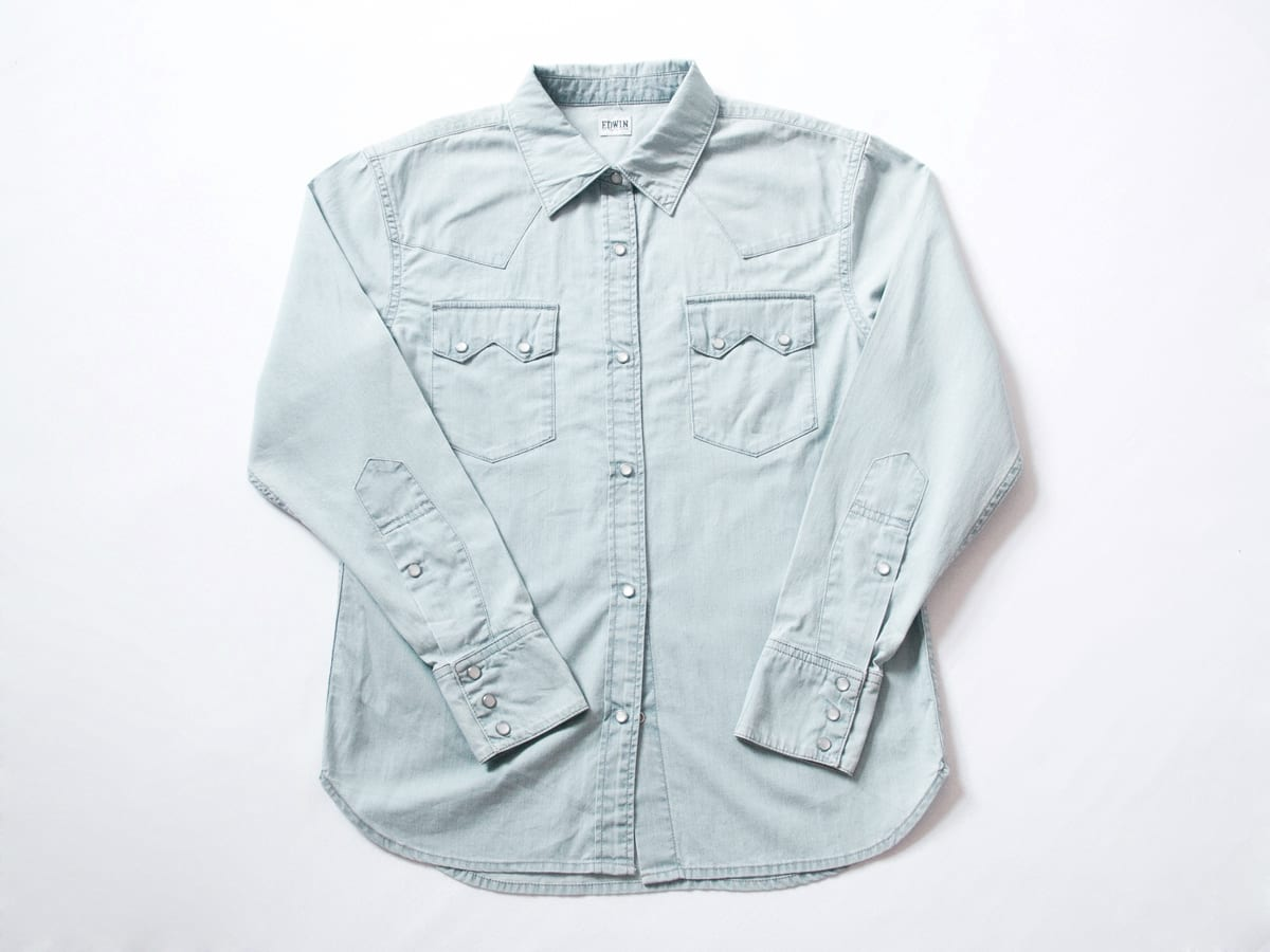 StyleAndMinimalism | New Additions | 2014 07 | Edwin - Denim Shirt