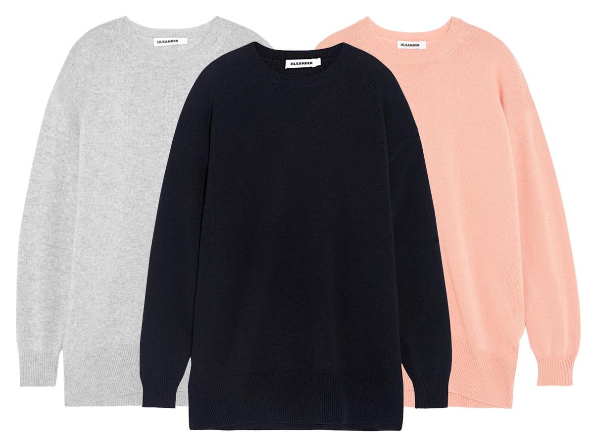 L'Amour | Jil Sander - Oversized Cashmere Sweater | Style&Minimalism
