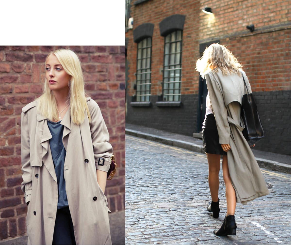 StyleANDMinimalism | Styling Inspiration | Lightweight Trench Coat