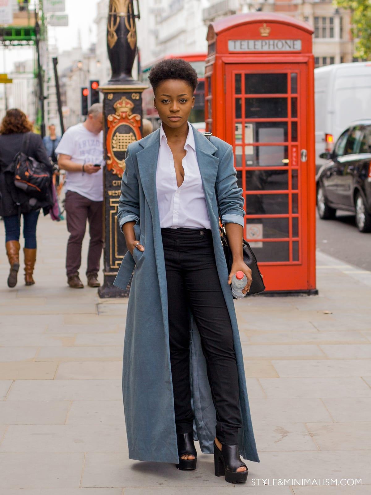 StyleANDMinimalism | LFW SS15 | Street Style | Day 1 | Ruth Misamu