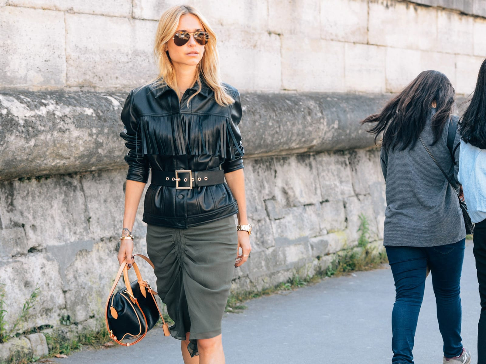 StyleANDMinimalism | Styling Inspiration | Leather Fringe Trend