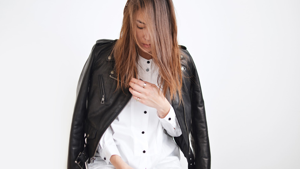 StyleANDMinimalism | 5 Wardrobe Essentials | The Biker Jacket