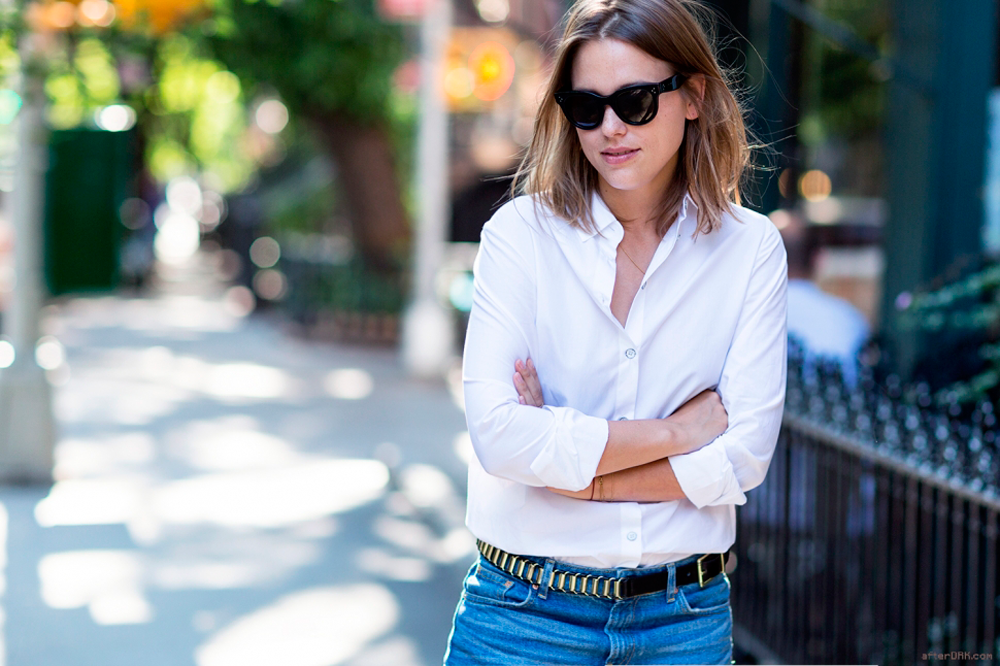 StyleANDMinimalism | 5 Wardrobe Essentials | The White Shirt