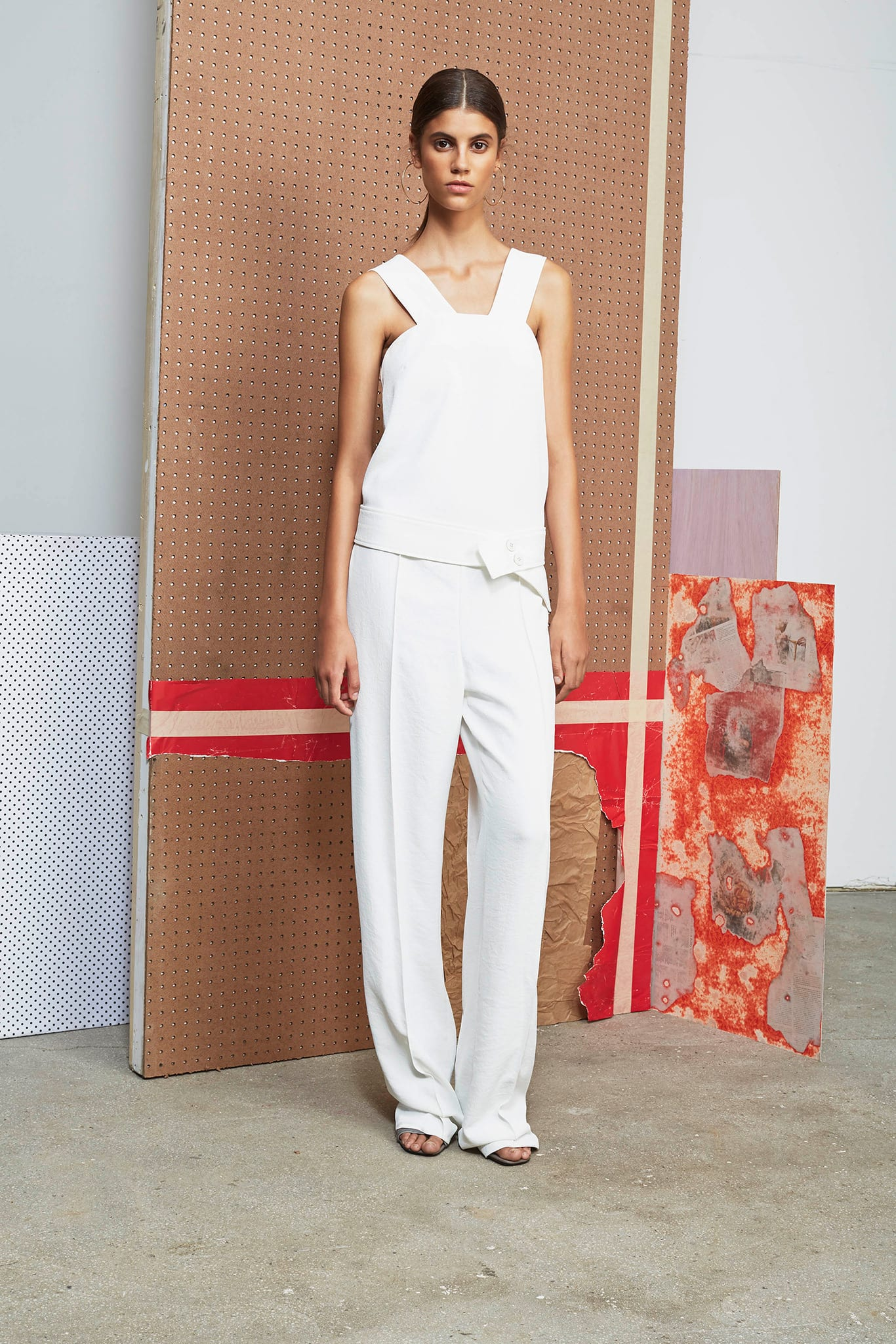 Style&Minimalism | Trends | SS15 | Wearing White | Derek Lam 10 Crosby Look 18