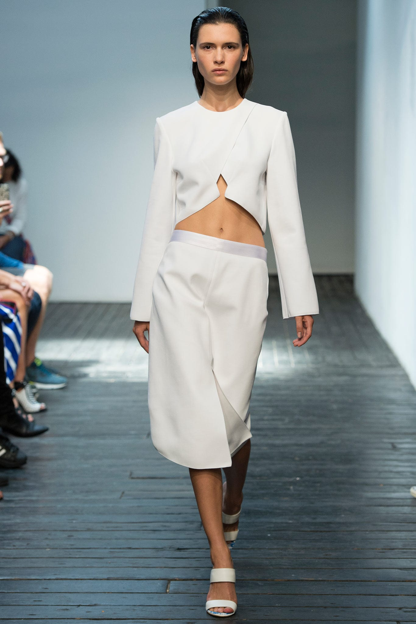 Style&Minimalism | Trends | SS15 | Wearing White | Dion Lee Look 19