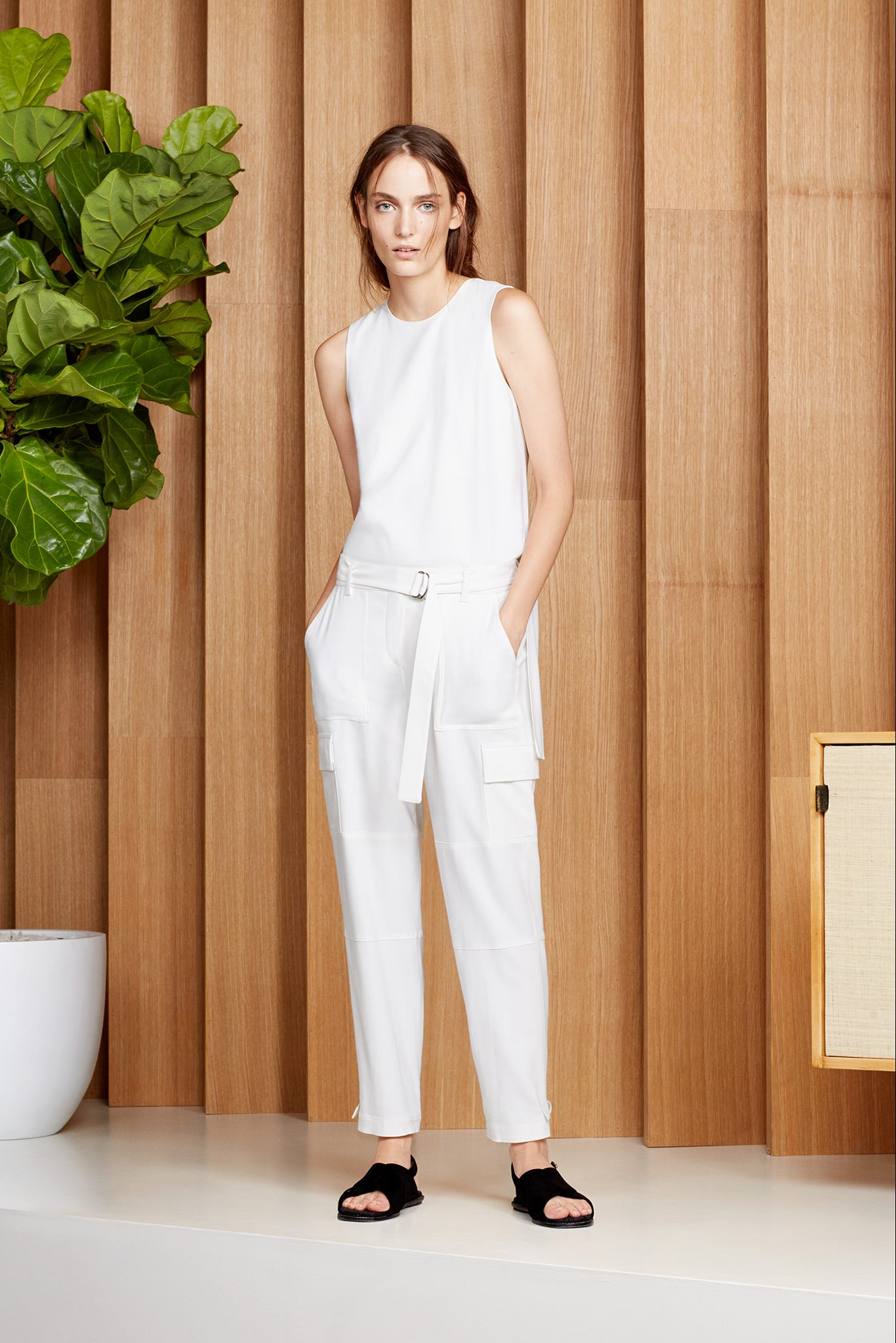 Style&Minimalism | Trends | SS15 | Wearing White | Theory Look 19