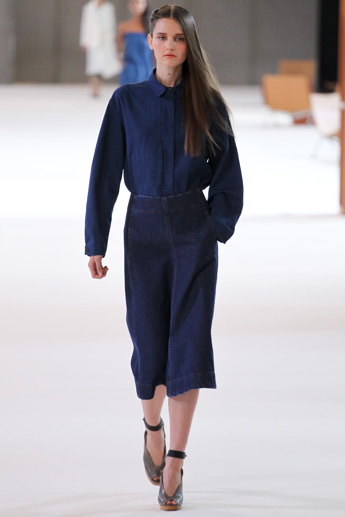 Trends | SS15 | Denim | Christophe Lemaire Look 12