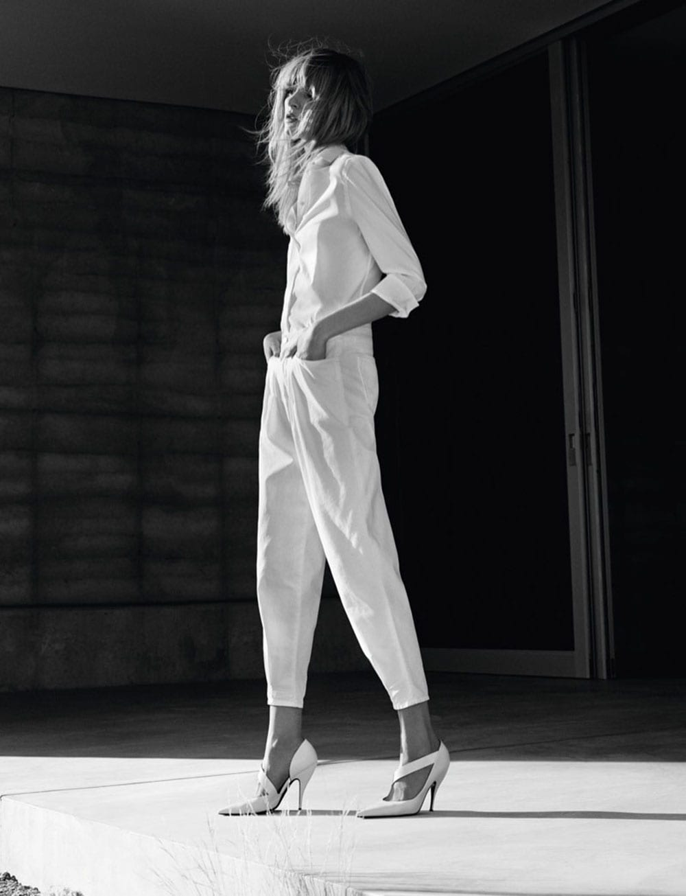 Style&Minimalism | J Brand SS15 Campaign | Daria Strokous by Josh Olins