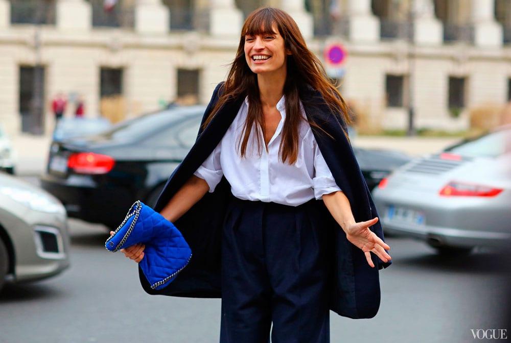 StyleAndMinimalism| L'Amour | White Boyfriend Shirt | Caroline de Maigret | PFW FW13