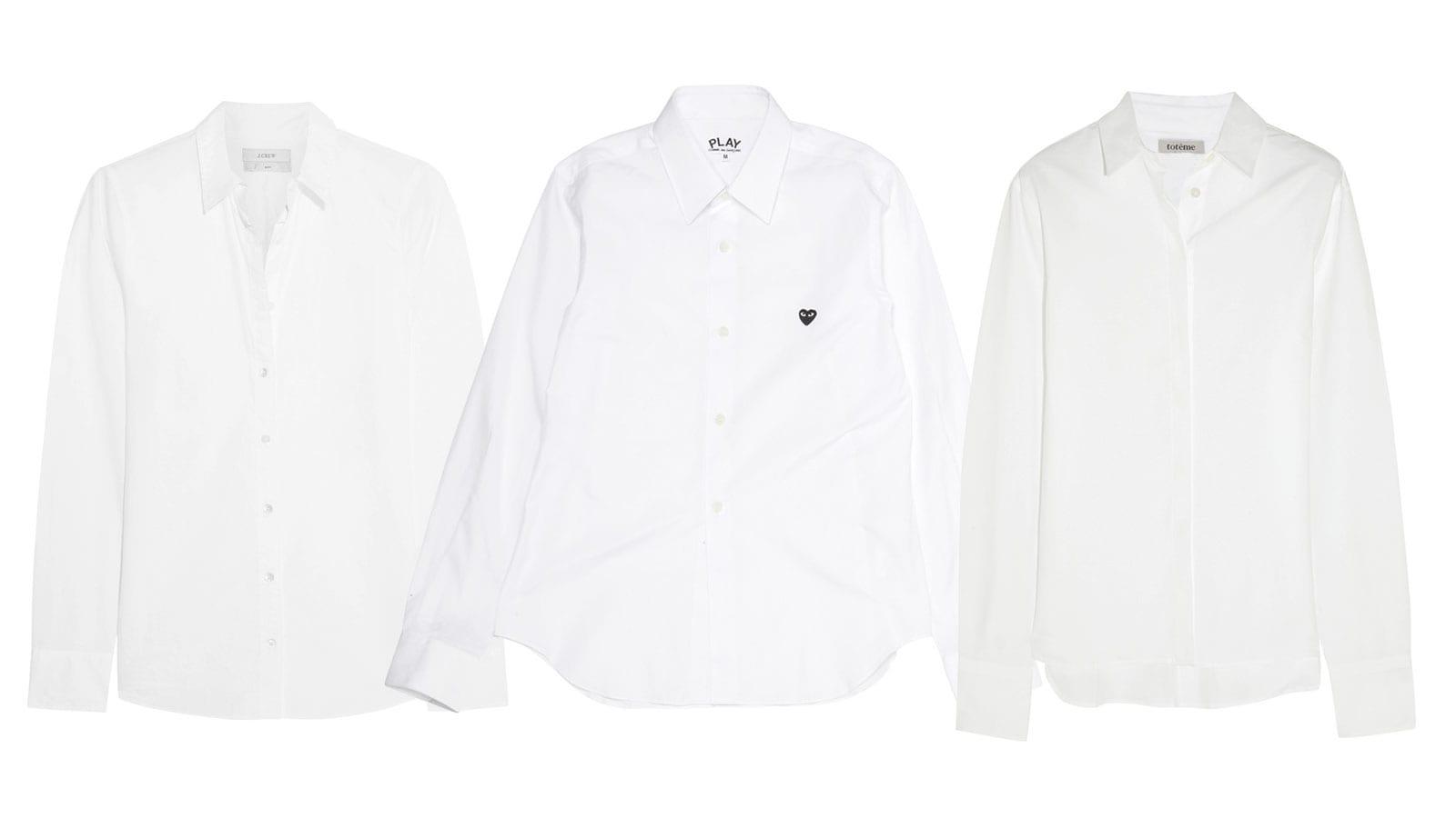 StyleAndMinimalism| L'Amour | White Boyfriend Shirt