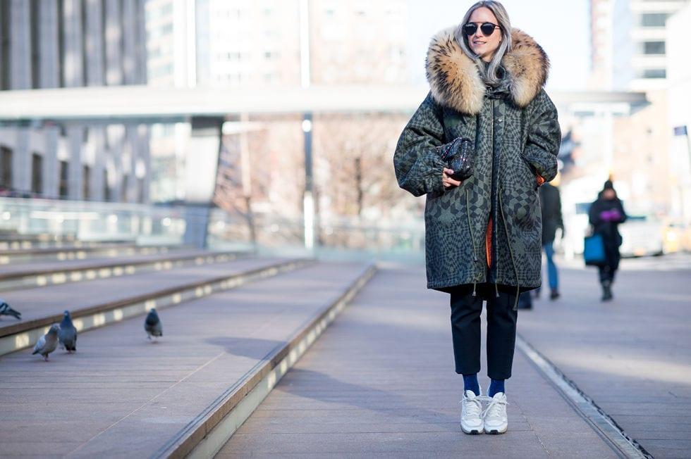 StyleAndMinimalism   Street Style   Fall 2015   NYFW   Charlotte Groeneveld by Elle