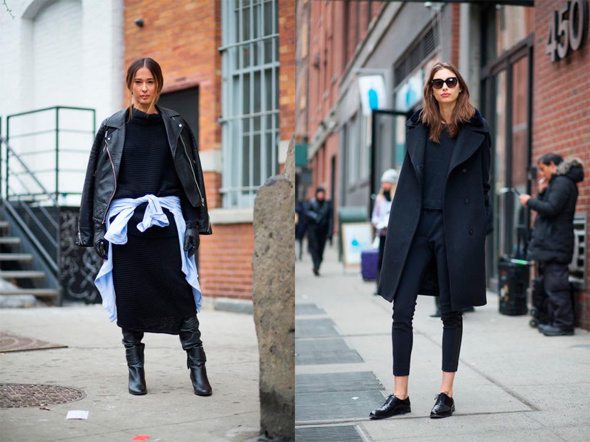 StyleAndMinimalism   Street Style   Fall 2015   NYFW   Eleanor Pendleton (left) by Diego Zuka