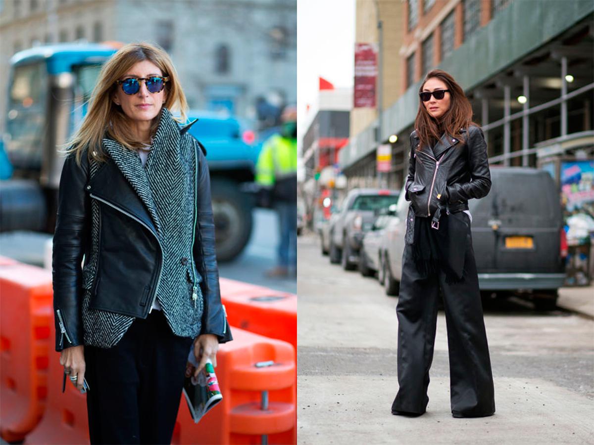 StyleAndMinimalism   Street Style   Fall 2015   NYFW   Sarah Rutson & Jayne Min by Diego Zuka