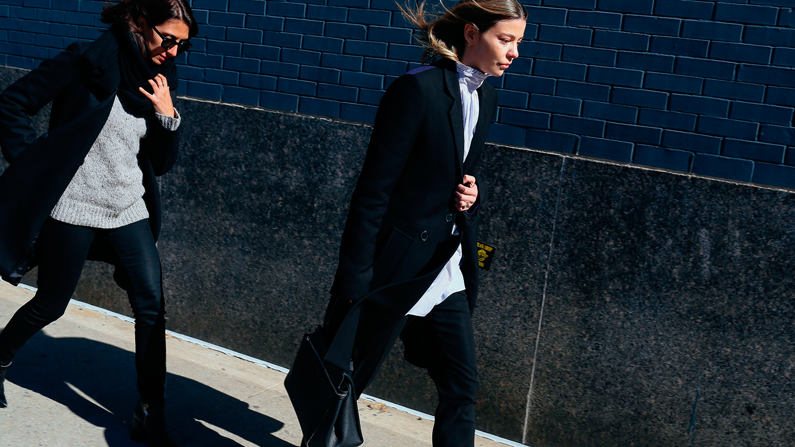 StyleANDMinimalism | Street Style | Fall 2015 | NYFW | Annina Mislin (right) in Vans shoes by Phil Oh