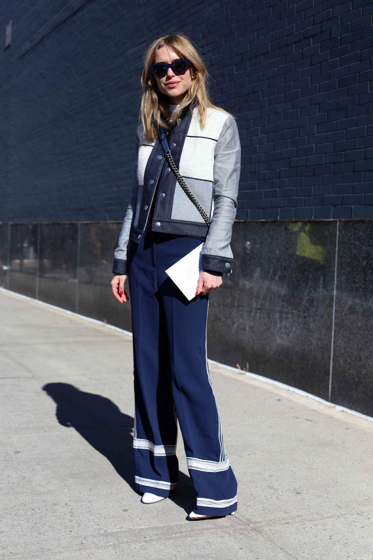 StyleAndMinimalism   Street Style   Fall 2015   NYFW   Pernille Teisbaek by Angela Datre