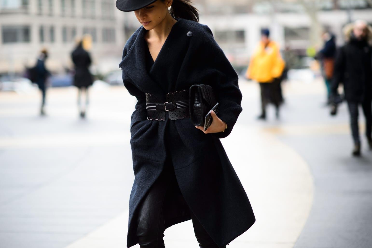 StyleAndMinimalism   Street Style   Fall 2015   NYFW   Lainy Alexandra Hedaya by Adam Katz Sinding
