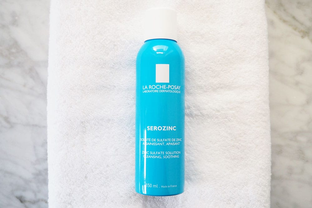 StyleAndMinimalism | Beauty | 7 French Pharmacy Favourites | La Roche-Posay Serozinc