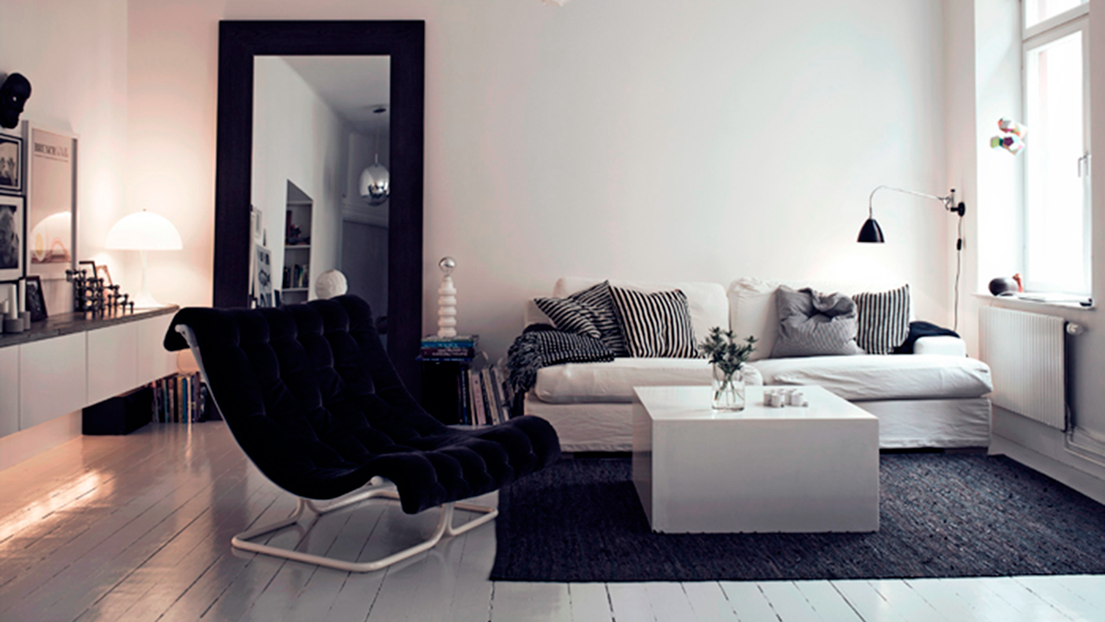 StyleAndMinimalism | Interiors | Small Smart Apartment In Sweden