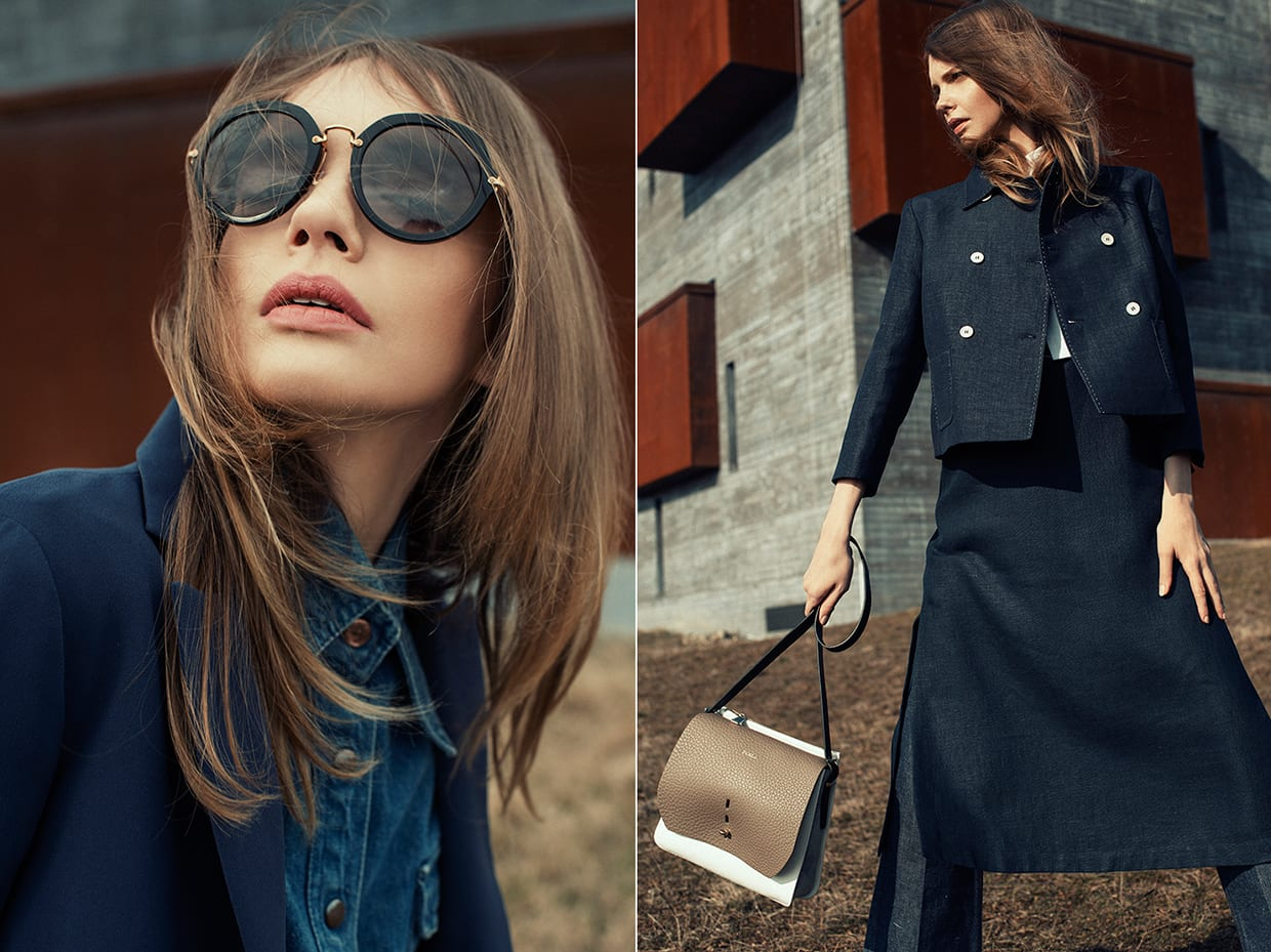 StyleAndMinimalism | Editorials | Sophie Srej for Marie Claire Hungary | 1970s Fashion Trend