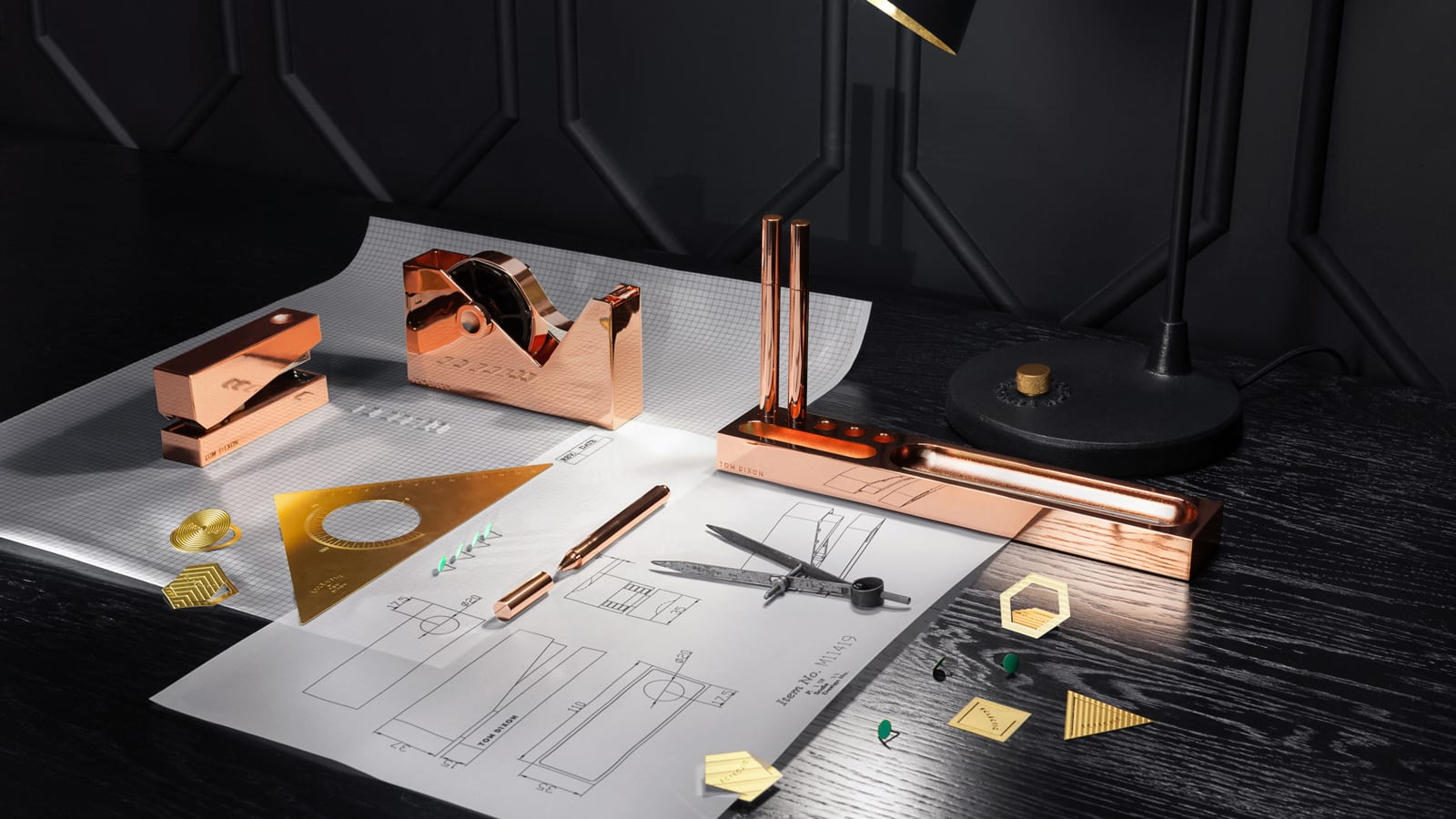 StyleAndMinimalism | Home Accessories | Tom Dixon Cube Stationary