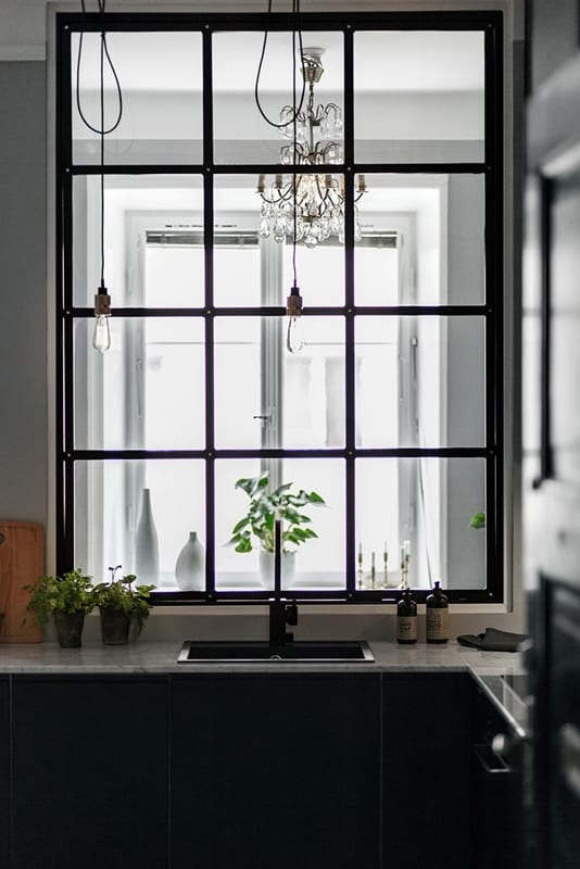 StyleAndMinimalism | Home | Interiors | Small Grey Apartment In Stockholm