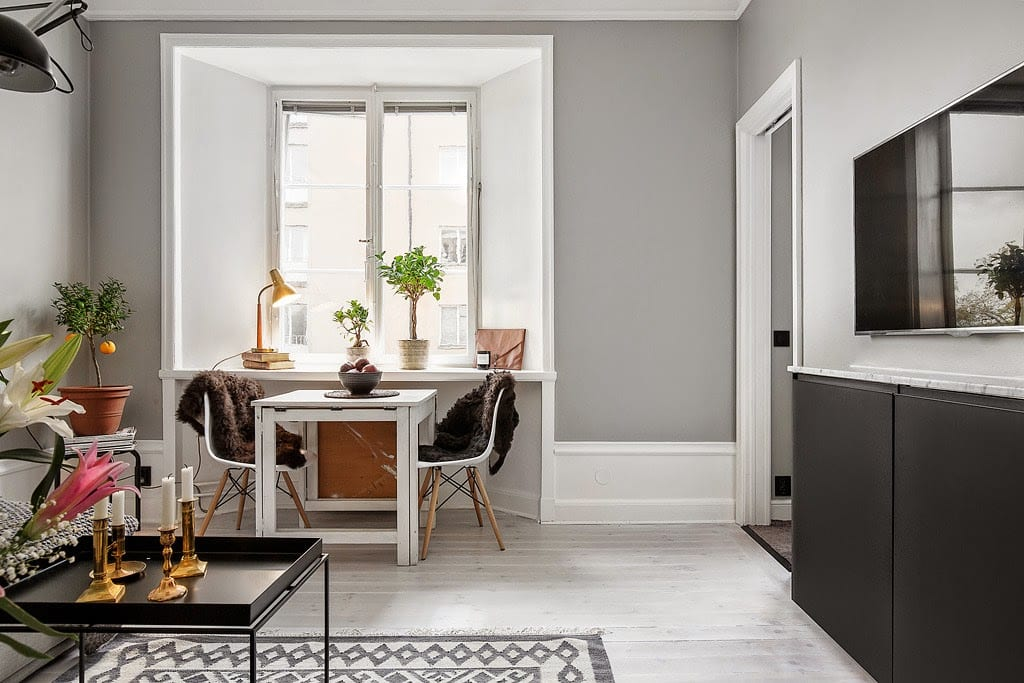 A Small Grey Apartment In Stockholm Style Amp Minimalism