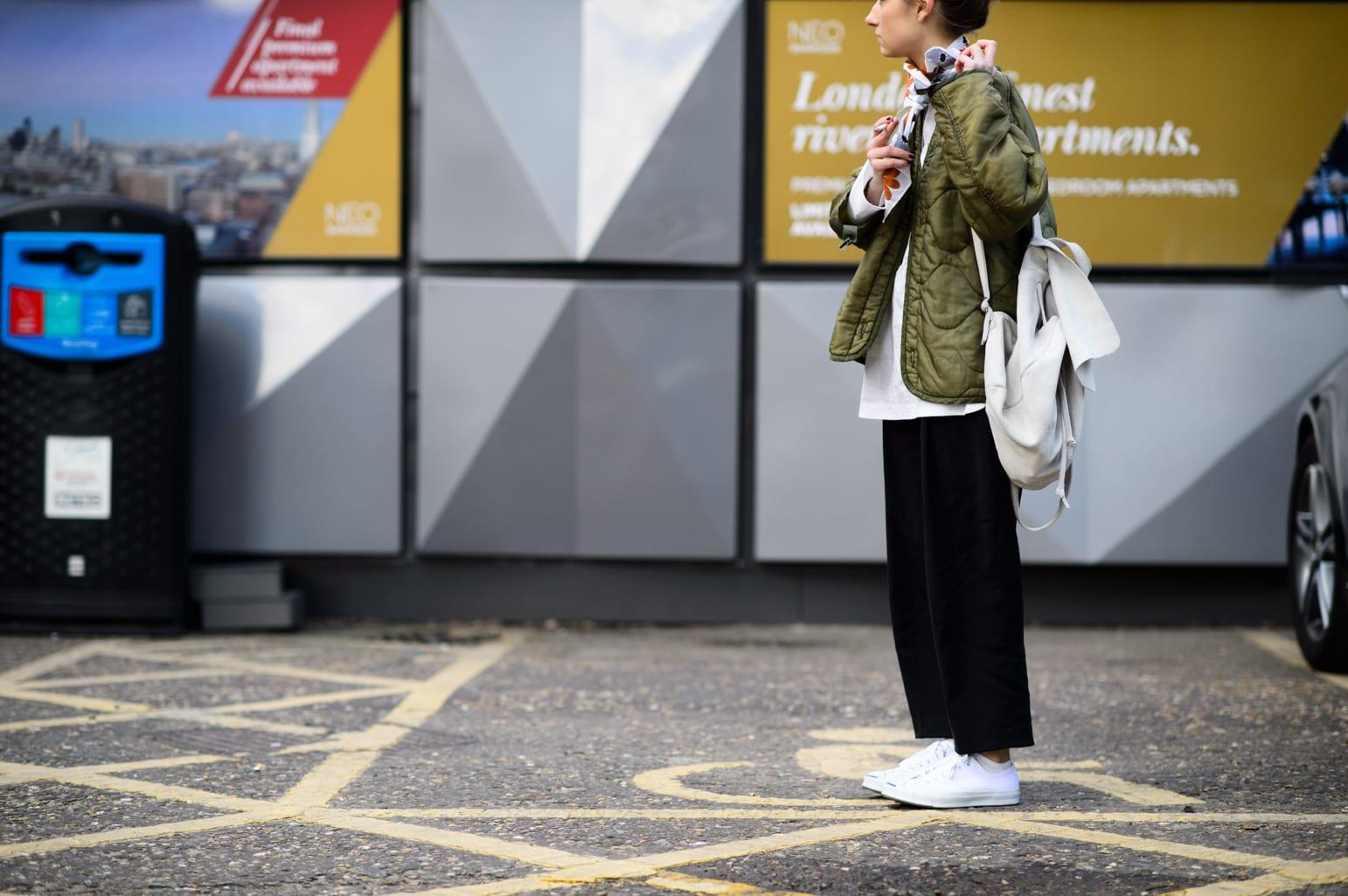 StyleAndMinimalism | Street Style | LFW | Fall '15 | by Adam Katz Sinding