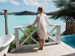 StyleAndMinimalism | Travel | Antigua | Wearing Pyrus shirt dress & Jil Sander sunglasses