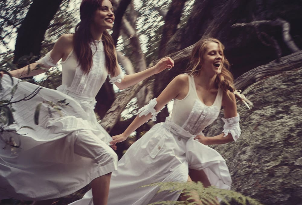 StyleAndMinimalism | Vogue Australia | March 2015 | Phoebe Tonkin & Teresa Palmer Photographed by Will Davidson