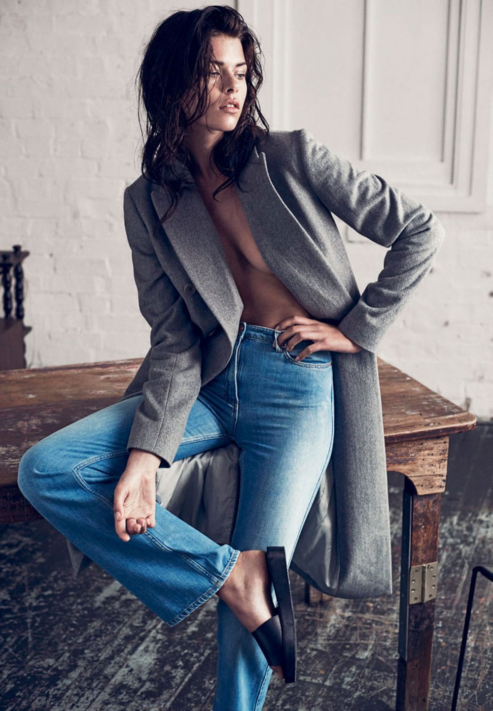 StyleAndMinimalism | Editorials | 2015 | Harper's Bazaar Australia | Georgia Fowler by Darren McDonald | The New Denim