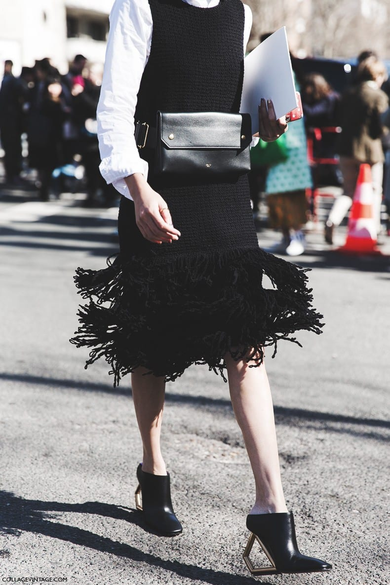 StyleAndMinimalism | Street Style | Céline | Bum Bag | by Diego Anciano