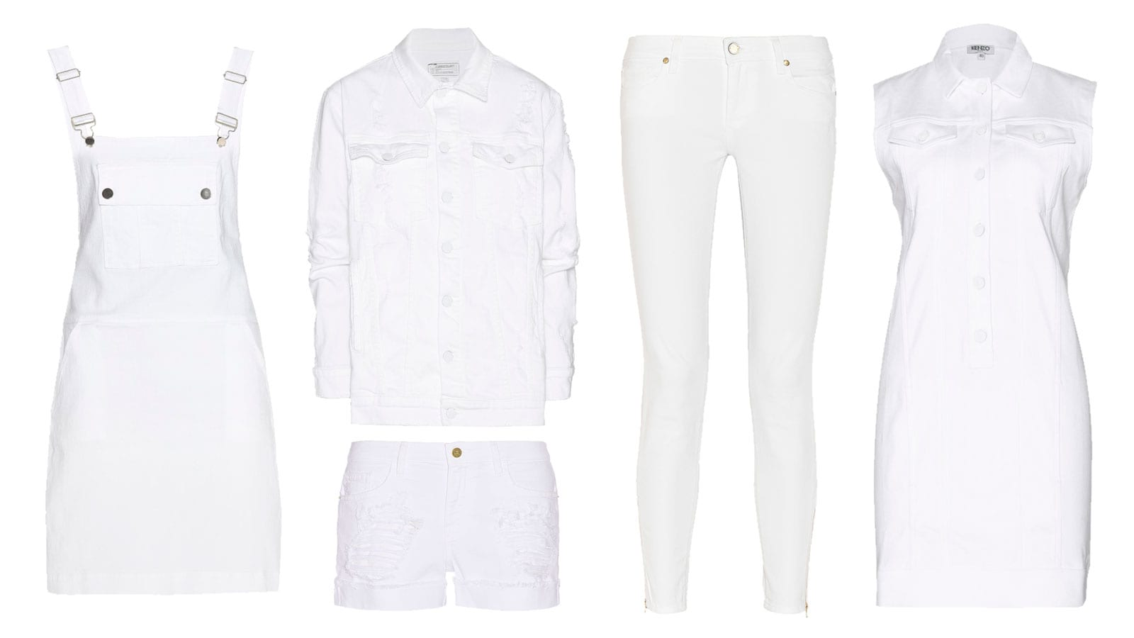 StyleAndMinimalism | Shopping List | New White Denim For Spring