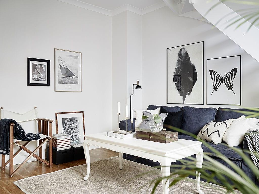 StyleAndMinimalism | Interiors | 55 Square | Gothenburg | Red Brick White Walls