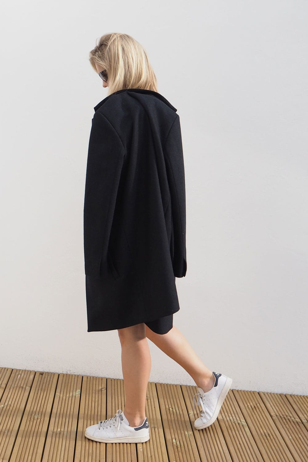 StyleAndMinimalism | It's Personal | Samsøe & Samsøe Kahlia Coat, Second Female Lovina Top
