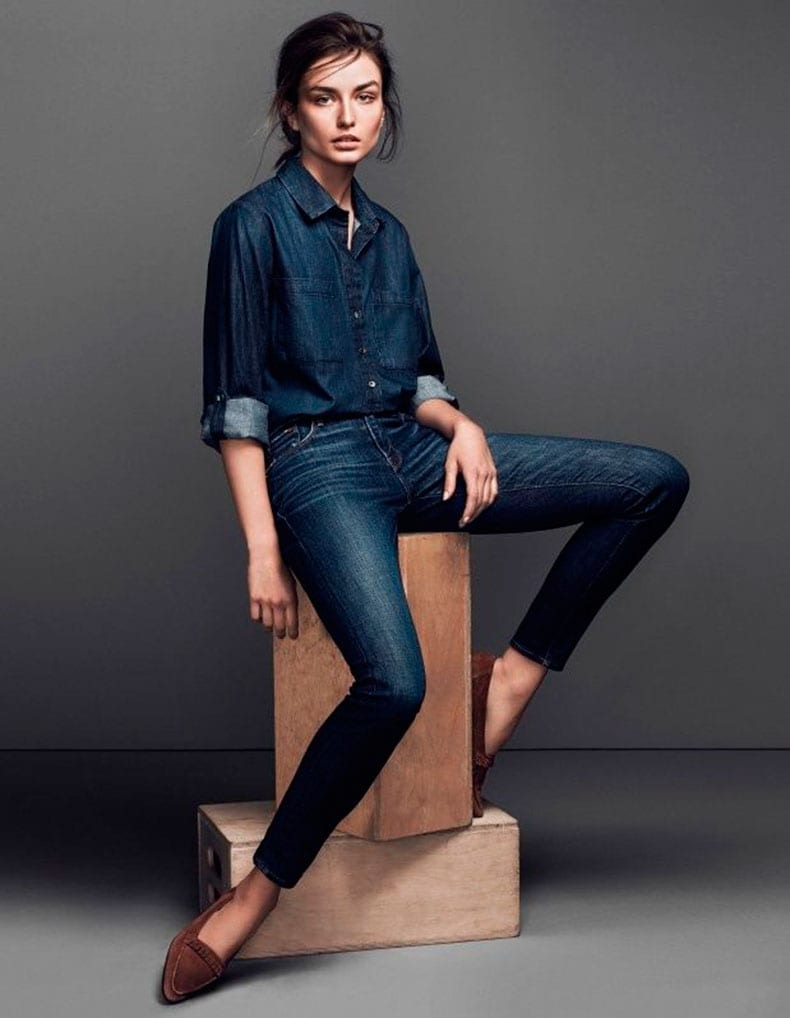 StyleAndMinimalism | Denim Series | Intro | Andreea Diaconu for Frame
